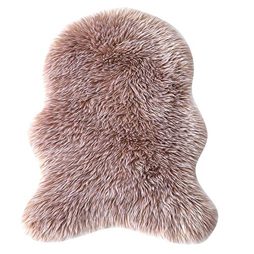Sofa Floor Rugs Faux Fur Fluffy Area Rug Floor Carpet Comfortable Home Decor Faux Sheepskin Area Rug For Bedrooms Living Room Kids Rooms,8,60x150cm