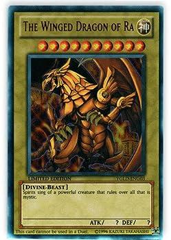 YU-GI-OH! - The Winged Dragon of Ra  YGLD-ENG03  - Yugi s Legendary Decks - 1st Edition - Ultra Rare