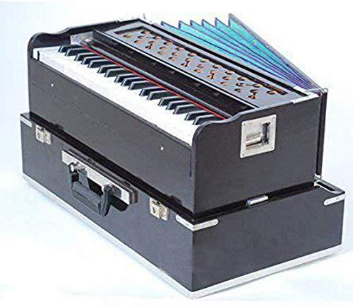 Folding(Portable) Harmonium with Coupler Mahogany