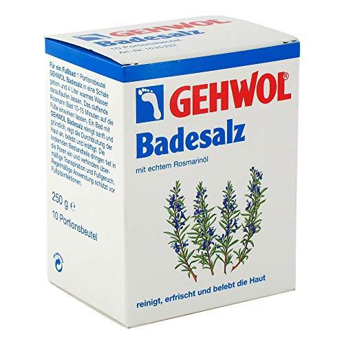 GEHWOL Rosmarin Badesalz Portionsbeutel 10X25 g