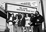 Wall Calendar 2021 [12 pages 8'x11'] Grateful Dead Vintage Music Poster Photo Magazine Cover
