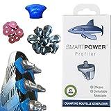 SMART POWER 16 Crampons Haute Performance Rugby 21 mm Aluminium : gagnez jusqu'à 10% de Puissance dans la melée. Le Crampon spécifique aux premières Lignes