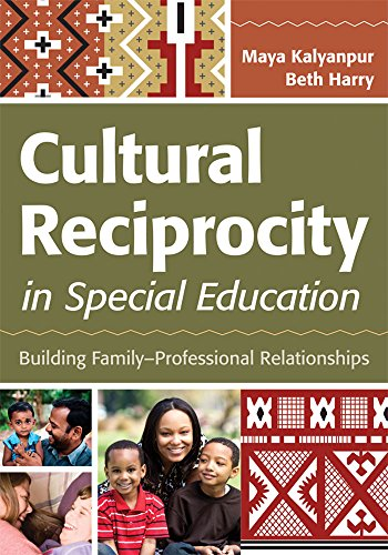 Compare Textbook Prices for Cultural Reciprocity in Special Education: Building Family?Professional Relationships 1 Edition ISBN 9781598572315 by Kalyanpur Ph.D., Maya,Harry Ph.D., Beth