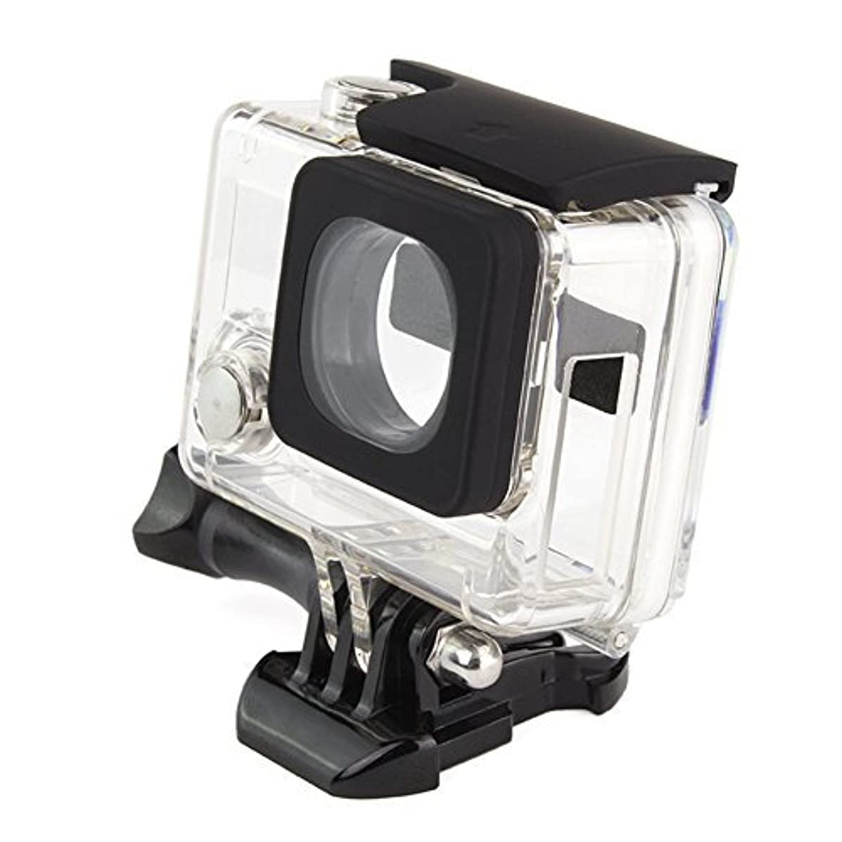 Side Open Skeleton for Go Pro4 3+ 3 Protective Housing compatible with Lens for all GoPro Hero4 Hero3 Hero3+ 3 Plus cameras