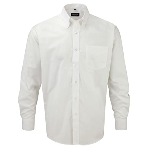 Russell Oxford Long Sleeve Shirt Easy Care 035c1d240