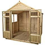 Forest Garden Forest Oakley Summerhouse 7x7, Pressure Treated