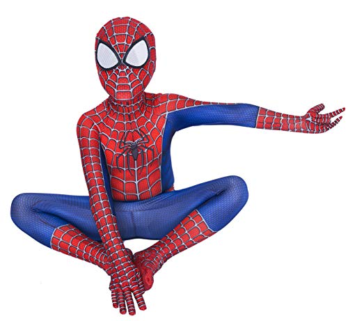 Riekinc Superhero Zentai Bodysuit Halloween Kids Cosplay Costumes