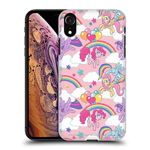 Head Case Designs Officially Licensed My Little Pony Rainbow Candy Clash Hard Back Case Compatible with Apple iPhone XR