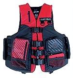 Jet Pilot Venture Nylon Jacket EN ISO 12402-550N W. Super Grip H.–Nylon Water Sports Vest Wakeboard Vest Water Ski Jacket Impact Vest with Side Handles