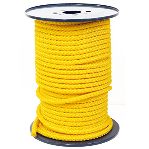 FTM® Springseil Tau Seil PP Gelb Meterware Rollenware Ø 9mm Fitnessseil 10m