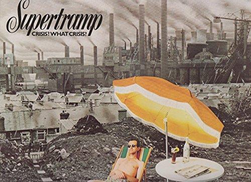 Supertramp / Crisis? What Crisis? / 1975 / Bildhülle mit farbiger ORIGINAL Innenhülle / AM # AMLH 68347 / Holländische Pressung / 12' Vinyl Langspiel-Schallplatte /