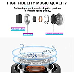 Bluetooth Wireless Earbuds,Bluetooth Headphones Wireless Earphones Bluetooth5.0 Stereo Sound Waterproof Headphones with mic