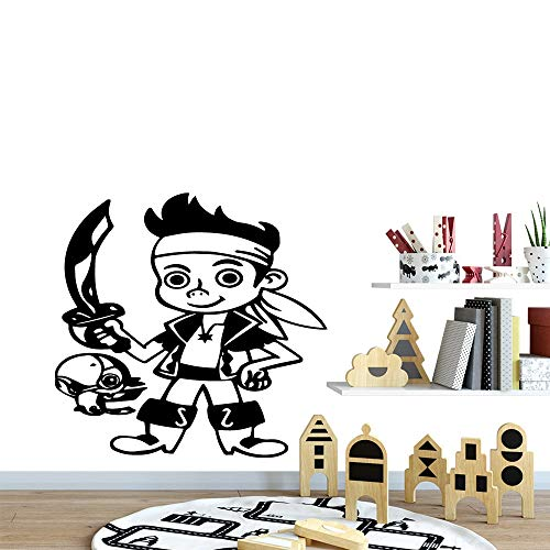 wZUN Calcomanías de Pared de Guerrero para habitación de niños decoración Familiar calcomanías de Pared Decorativas extraíbles 33X33cm