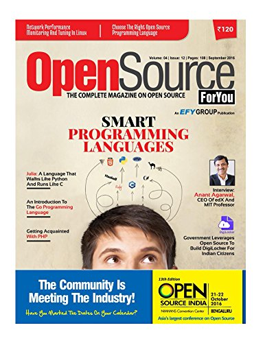 Open Source for You, September 2016 (English Edition)