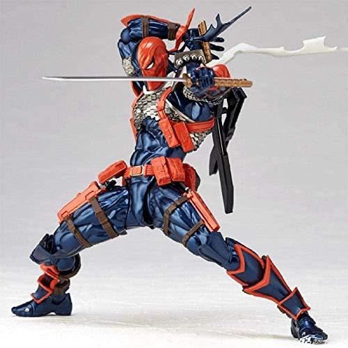 Toys D Animerevoltech Anime Series Batman Deathstroke PVC Action Figure Collectible Model Kids Toys Doll 17 Cm