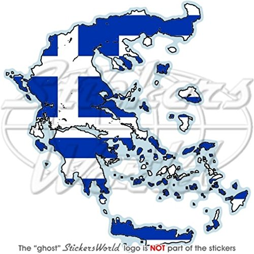 GRIEKENLAND Griekse Map-Flag Hellas Hellenic 4
