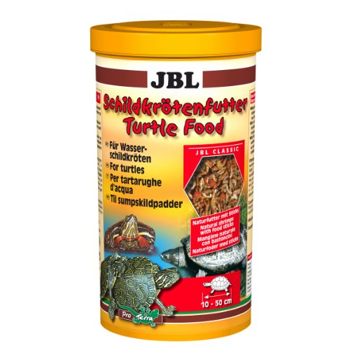 JBL Turtle Food 7036400 Naturfutter für Wasser- und Sumpfschildkröten, 1er Pack (1 x 1 l)