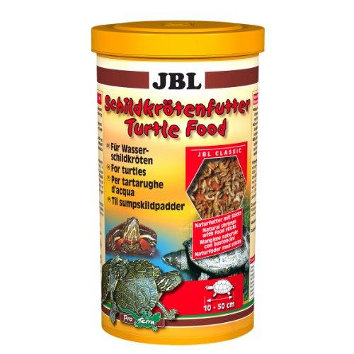 JBL Nourriture tortue 1l, Aliment de base pour tortues d'eau de 10 à 50 cm