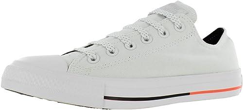 Converse Unisex Chuck Chuck Taylor All Star Faible Top blanc   Lava   noir paniers - 3.5 D(M)  prix raisonnable