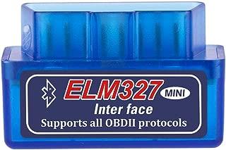CREACLE V2.1 Super MINI ELM327 Bluetooth OBD/OBD2 ELM 327 Multi-Language 12Kinds Works ON Android Torque/PC