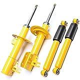 4X–Ammortizzatore Sportivo Pressione Gas Sport Ammortizzatore Anteriore Posteriore