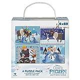 Frozen Puzzles, 60 Pieces, (4-Pack)
