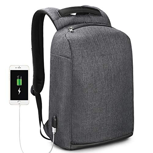 Backpack Rucksack Laptop Bag New Casual Waterproof Men Backpack 15.6' Laptop Anti Theft With Usb Male Fashion School Backpacks Black