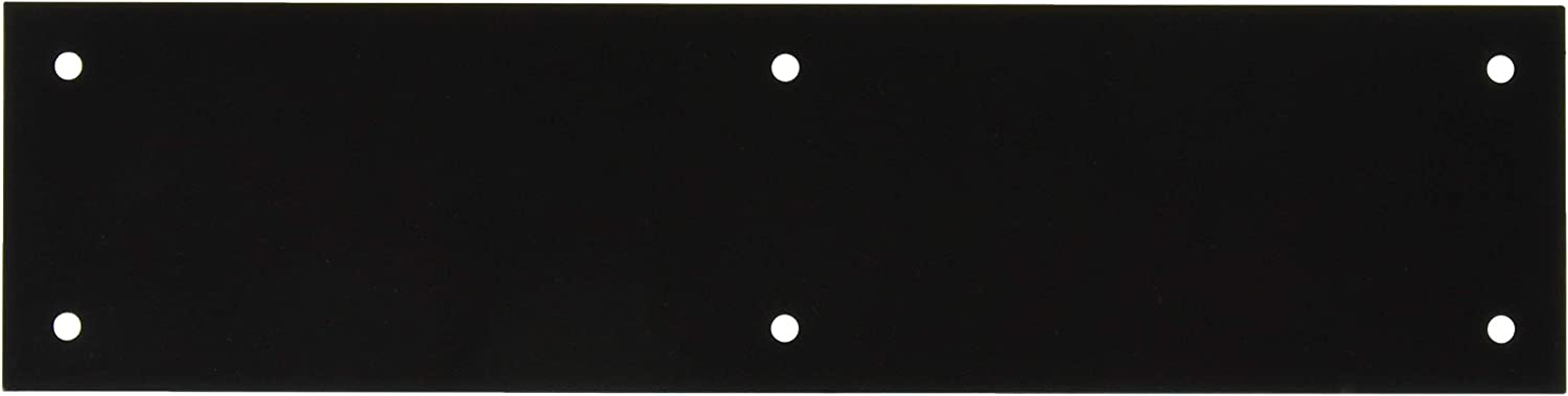 Year-end gift Baldwin 2121 3 Inch x 12 Push 2021 Brass Square Plate Solid Edge