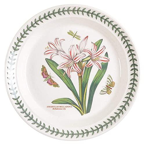 Portmeirion Botanic Garden Salad Plate, 8.5', Belladona Lily, White