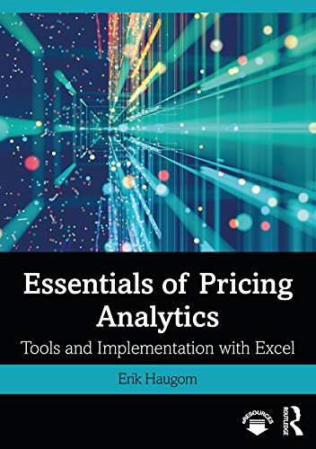 Essentials of Pricing Analytics: Tools and Implementation with Excel (English Edition)