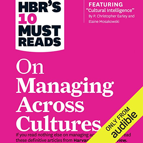 HBR's 10 Must Reads on Managing Across Cultures audiobook cover art