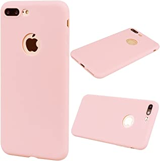 iPhone 8 Plus Cover iPhone 8 Plus 5.5 YIGA Verde Silicone Morbido