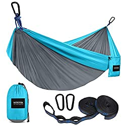 A Kooteck brand hammock, one of the most comfortable camping gift ideas.