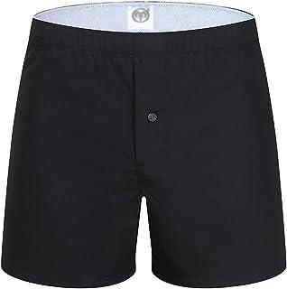 Mens Boxer Shorts with Elasticated Waistband Comfy Summer Homewear Sleepwear Lounge Wear Nightwear Sleepwear Pyjama Shorts...