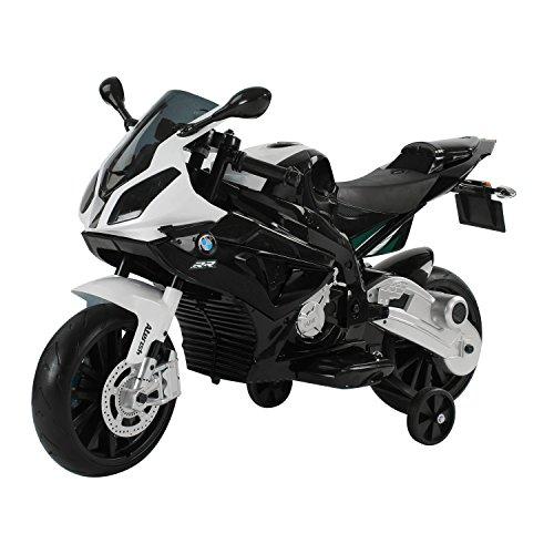 homcom Moto Elettrica BMW per Bambini velocit 2.5-5Km/h con Rotelle e Luci...