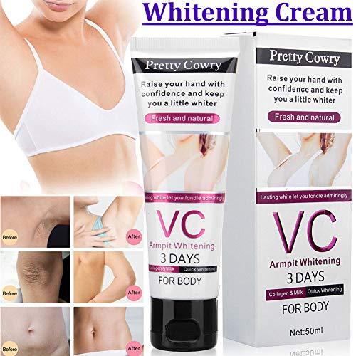 Best Underarm Whitening Creams