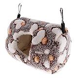 Amuzocity Kleintiere Eichhörnchen Hängematte Spielzeug Hängendes Bett Haus für Ratten Kaninchen...