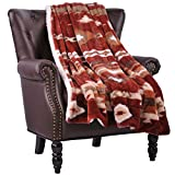 Home Soft Things Southwest Throw Blanket 60' x 80' Brick Red