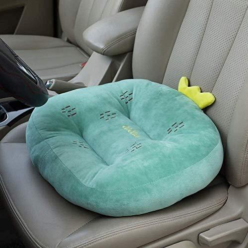 Cojín grueso de aumento mejorado para asiento de automóvil, alfombrilla de refuerzo de malla transpirable portátil, para silla de ruedas, almohadilla para silla de oficina, dolor en el coxis (Color: C
