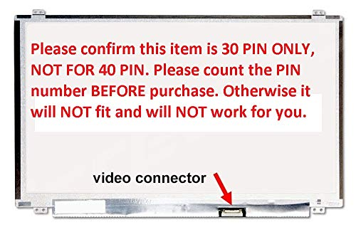 VIVO New Replacement LCD Screen for Laptop LED HD Glossy for Dell Inspiron 15 3000 (no touchscreen)