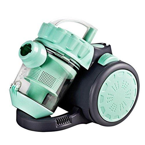 QMMCK Hogar Ultra-silenciosa aspiradora Horizontal 1200W Super Fuerte de succión Pequeña máquina de Polvo de eliminación de Polvo, Green