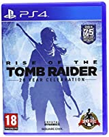 Rise of The Tomb Raider: 20 Year Celebration (PS4) (輸入版)