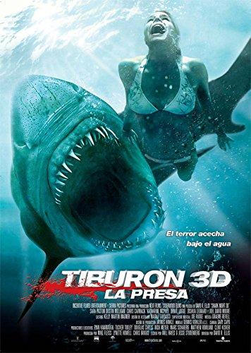 Tiburón 3D: La presa [Blu-ray]