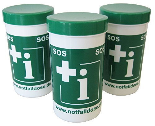 Sparset Notfalldose 3 Stück