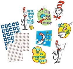 Dr. Seuss Reading Goal Kit Bulletin Board Set