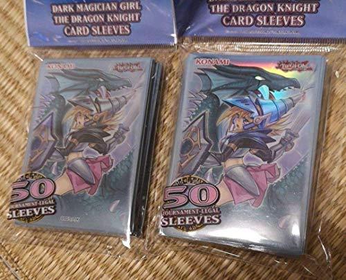 遊戯王 竜騎士 ブラックマジシャンガール スリーブ 100枚