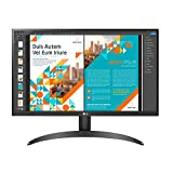 """LG 24QP500-B 24"""" QHD (2560 x 1440) IPS Display QHD IPS Monitor with HDR 10 sRGB 99% Color Gamut and FreeSync with 3-Side Virtually Borderless Design, Black"""