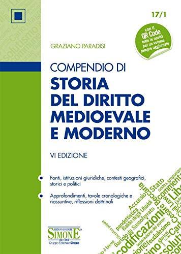 Compendio di storia del diritto medievale e moderno. Con Contenuto digitale per download