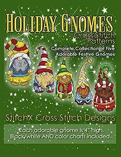 Holiday Gnomes Cross Stitch Patterns