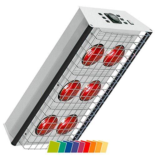 Heuser Rotlichtstrahler TGS Therm 6 Stativmodell, Infrarotwärmestrahler